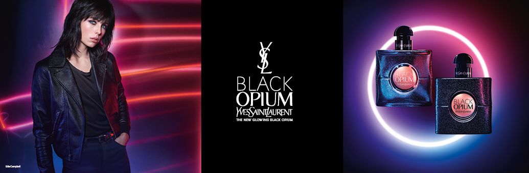 YVES SAINT LAURENT Black Opium Glowing Eau de Toilette for Women