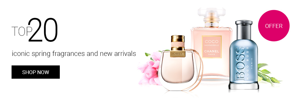 TOP 20 iconic spring fragrances and new arrivals!