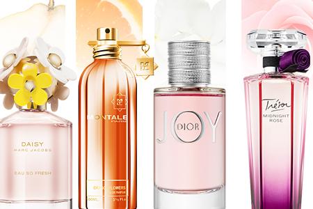 Most popular fragrance notes
